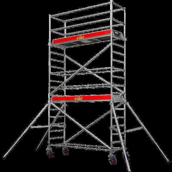 echafaudage roulant 3 5 m k 39 lou la location de. Black Bedroom Furniture Sets. Home Design Ideas